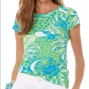 Lilly Pulitzer Roar of the Jungle Karrie Tee